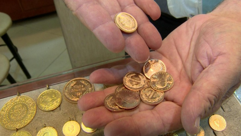 Altın fiyatları yönünü aşağı çevirdi!