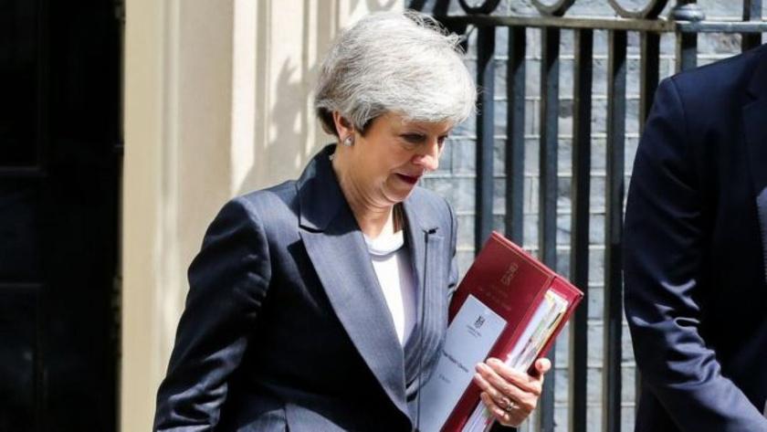 Theresa May istifasını açıkladı