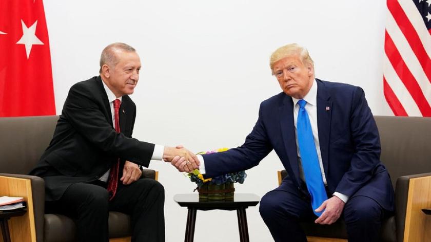 Trump: Türkiye'ye yaptırım düşünmüyorum