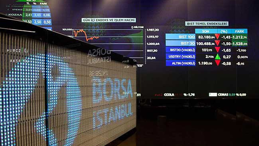 Borsa İstanbul'da günün açılış rakamları