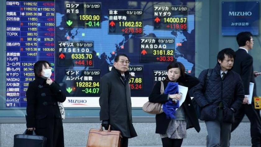 Asya borsaları ekside