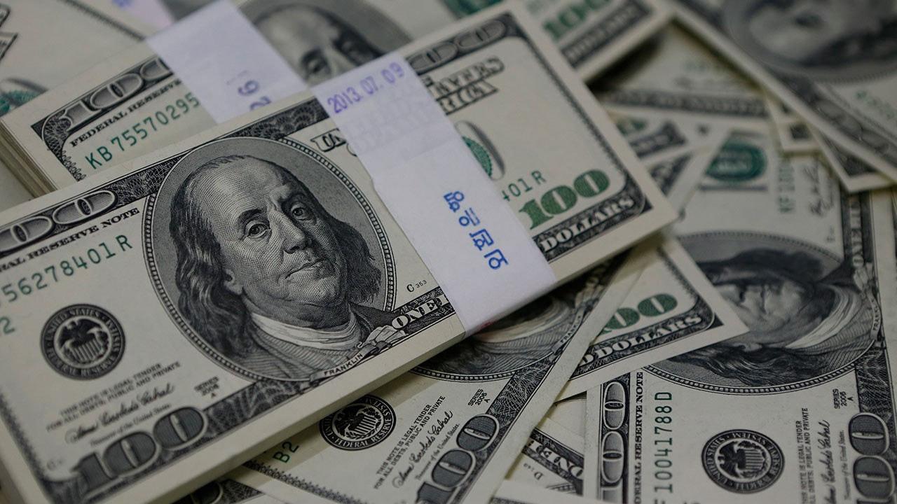 Hazine 2,25 milyar dolar borçlandı