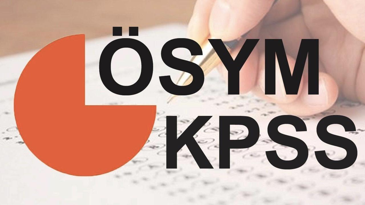 KPSS sonuçları açıklandı: Bir soruda düzeltme