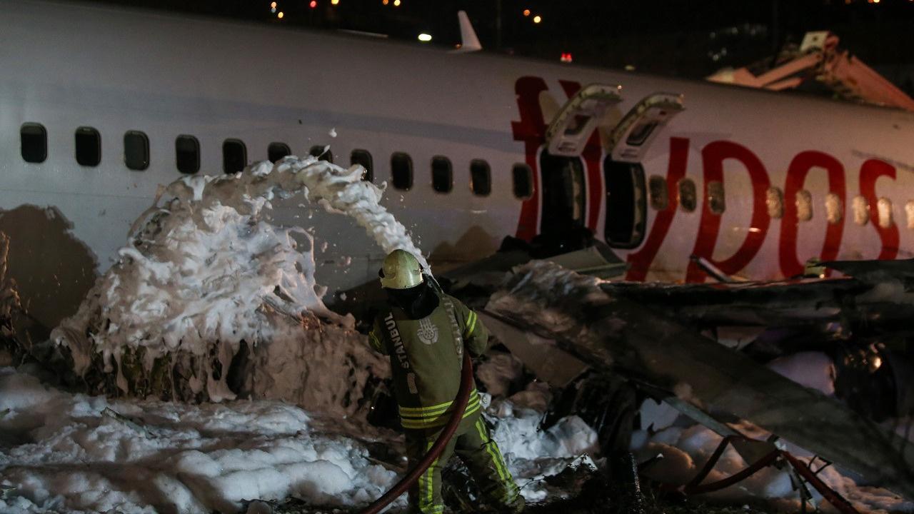 Pegasus CEO'su Mehmet Nane'den 'kaza' açıklaması
