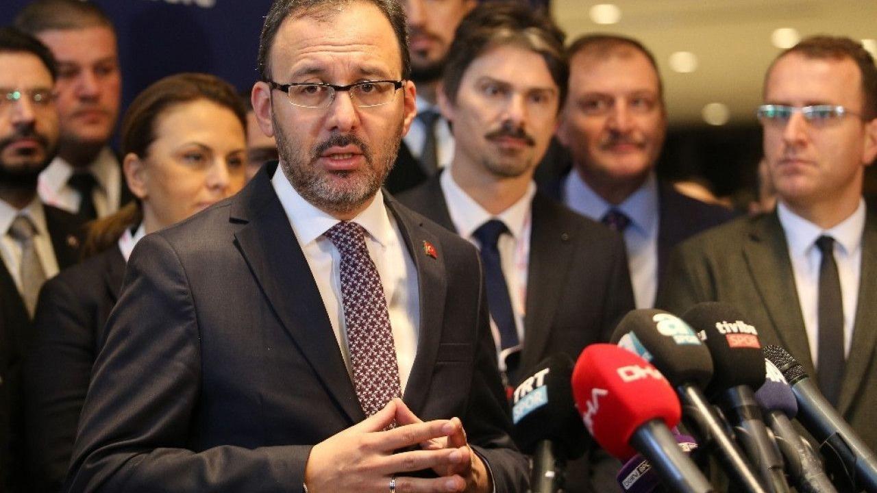 Kasapoğlu: Yayıncı kuruluş bugün kulüplere 103 milyon lira ödeme yapacak