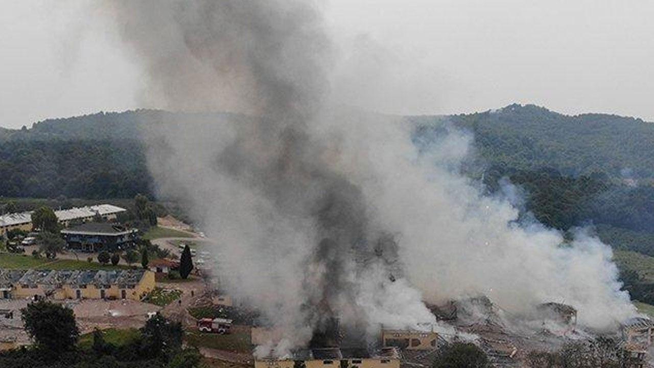 Havai fişek fabrikasının sahibi 2 kişi gözaltına alındı