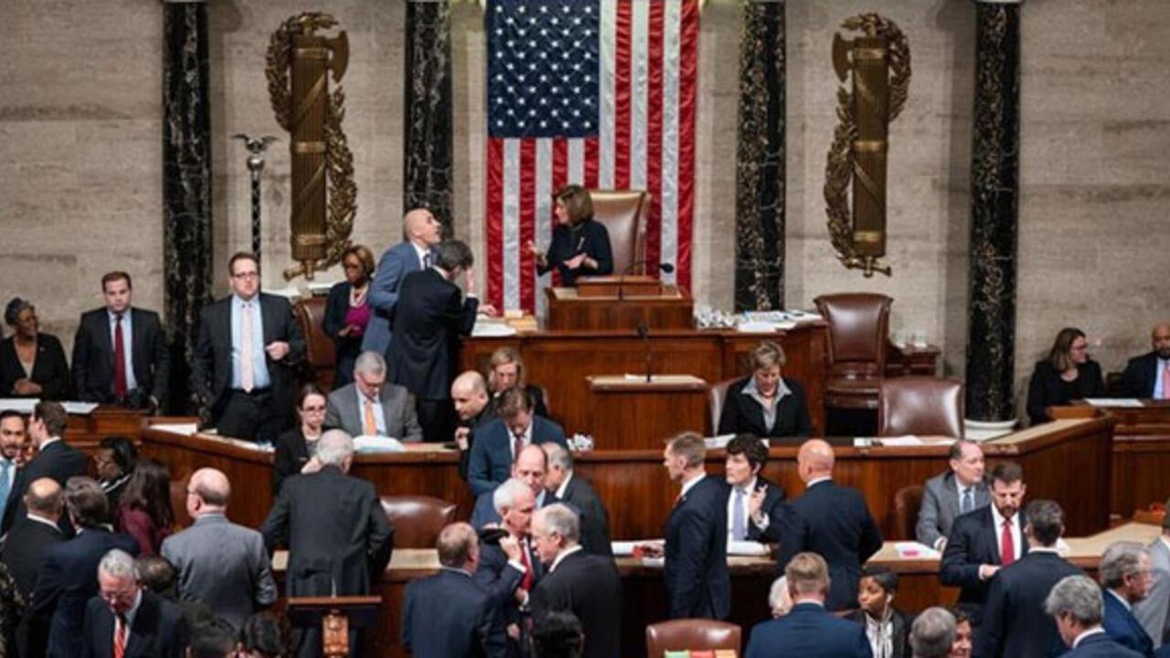 ABD Temsilciler Meclisi bir haftalık geçici bütçeyi onayladı