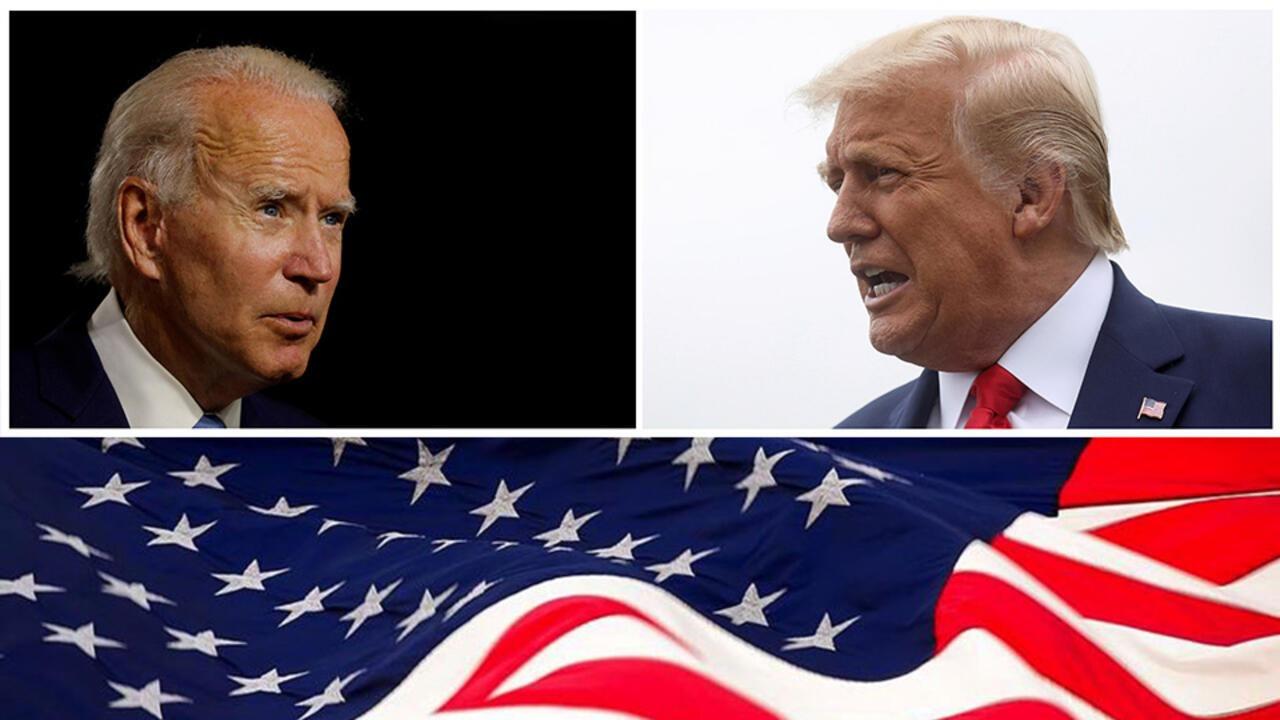 ABD 46. başkanını seçiyor: Biden, Trump'ın önünde