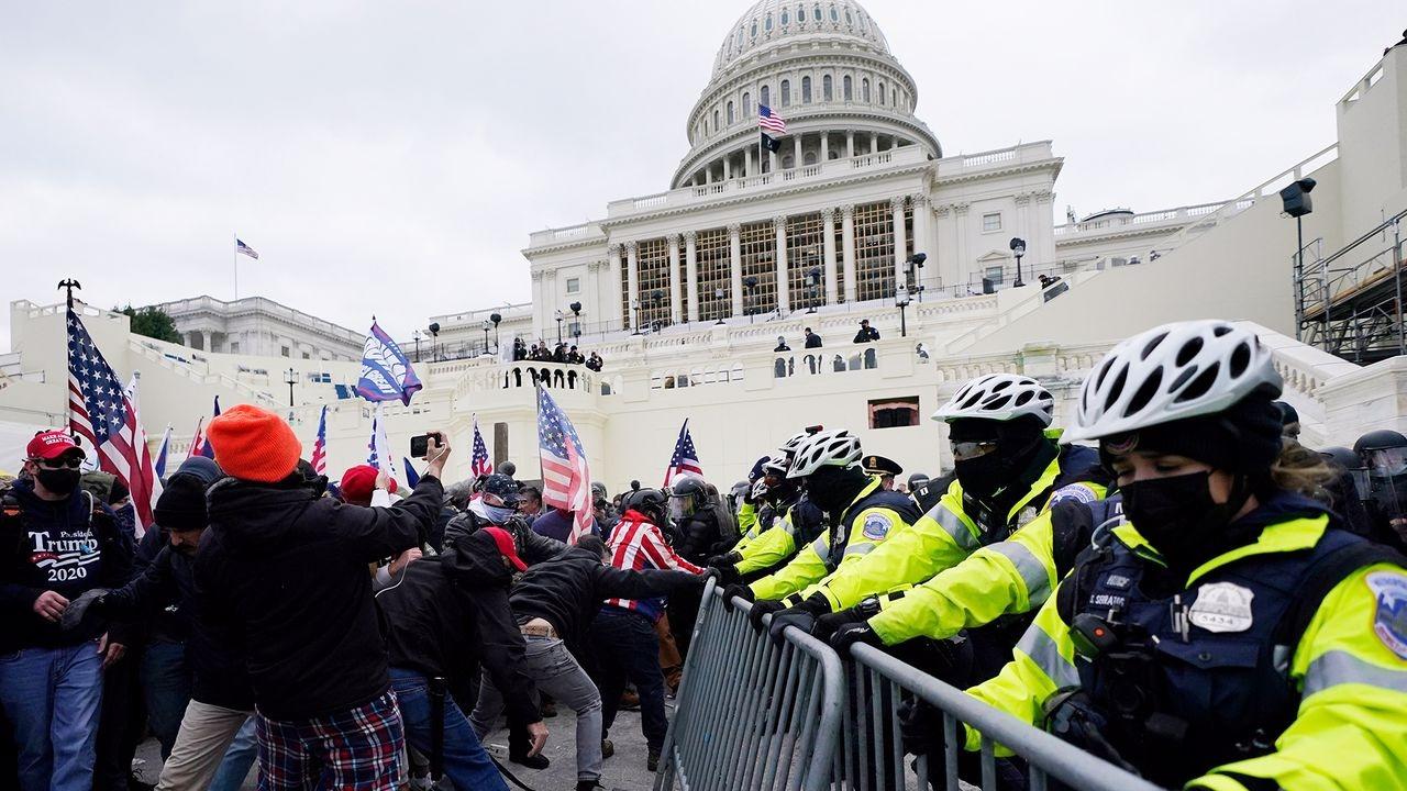 Washington DC'de sokağa çıkma yasağı